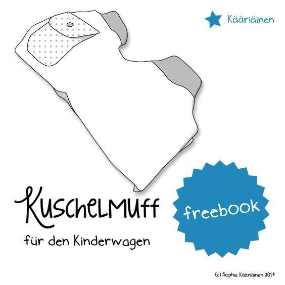 Freebook Kuschelmuff für den Kinderwagen