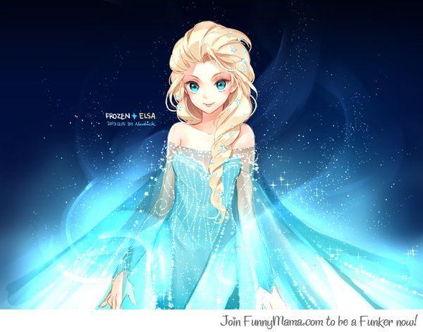Frozen- anime version