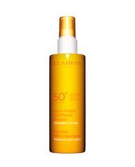 Los 10 mejores protectores solares para el cuerpo: Clarins Sunscreen Care Milk-Lotion Spray SPF 50+