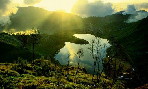 Cebong lake,Dieng,wonosobo,central java,INDONESIA