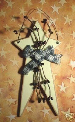 Primitive Wood Crafts | country primitive star handmade country primitive wood…