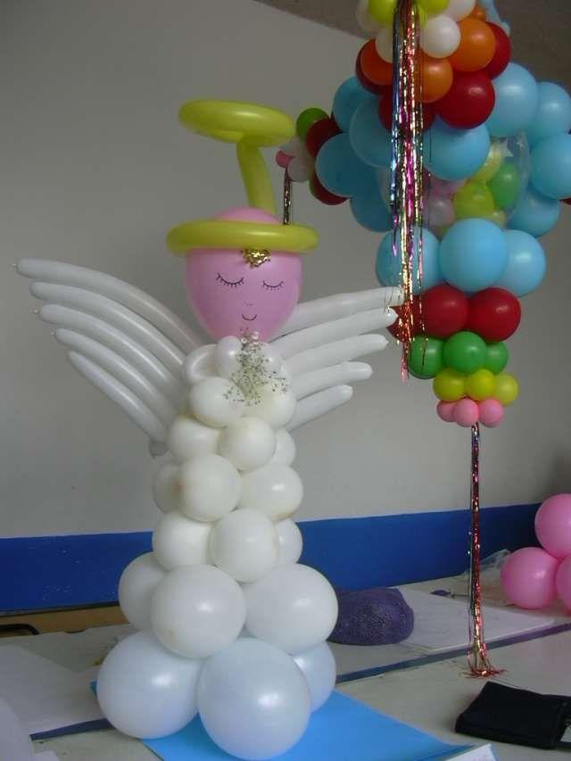 decoracion con globos para fiestas infantiles sencillas - Buscar con Google