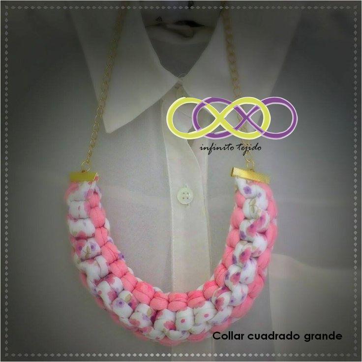 Collar #trapillo #handmade