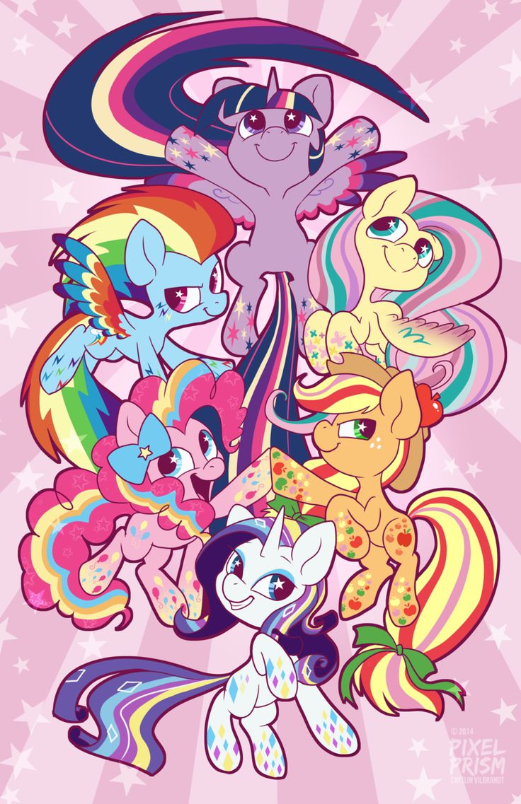 Rainbow Power! by Pixel-Prism.deviantart.com on @deviantART