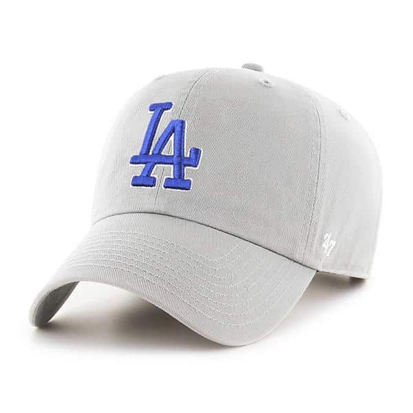 Los Angeles Dodgers 47 Brand Gray Clean Up Adjustable Hat Detroit Game Gear In 2020 Detroit Game Los Angeles Dodgers Dodgers