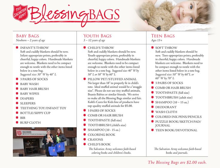 blessing bags for homeless - Google Search