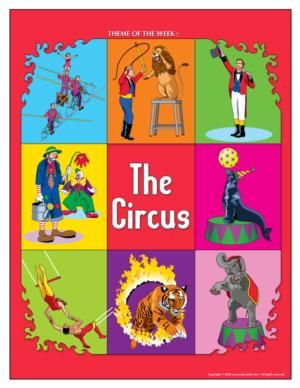Circus Theme and Activities from Educatall