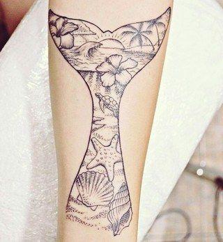 17 tatuagens para as apaixonadas pelo mar <3