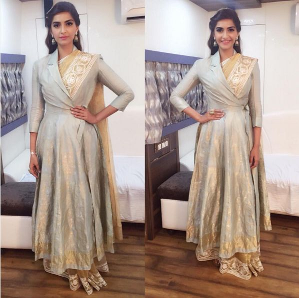 15 Times Sonam Kapoor Didn't Drape A Sari The Boring-Ass Way