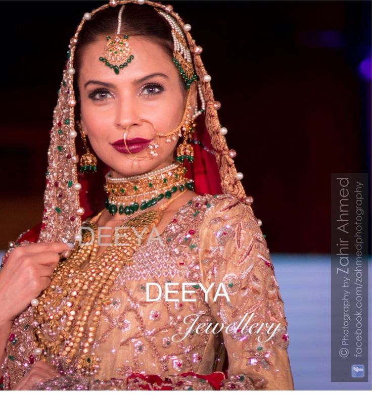 We chose a very traditional hyderabadi choker and nau lada mughal bridal jewellery set with high quality semi precious beads and stones on Pakistani supermodel @fouziaaman, so many various looks at PFW8 in London. Brides to be will ibe spoilt for choice from Deeya Jewellery. Contact via Whatsapp on 00447545228167 to order or to enquire about your bridal and formal jewellery.