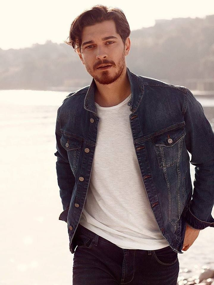 Çağatay Ulusoy in Advertisement Photoshoot for Colin's (Jeans Brand) 2016
