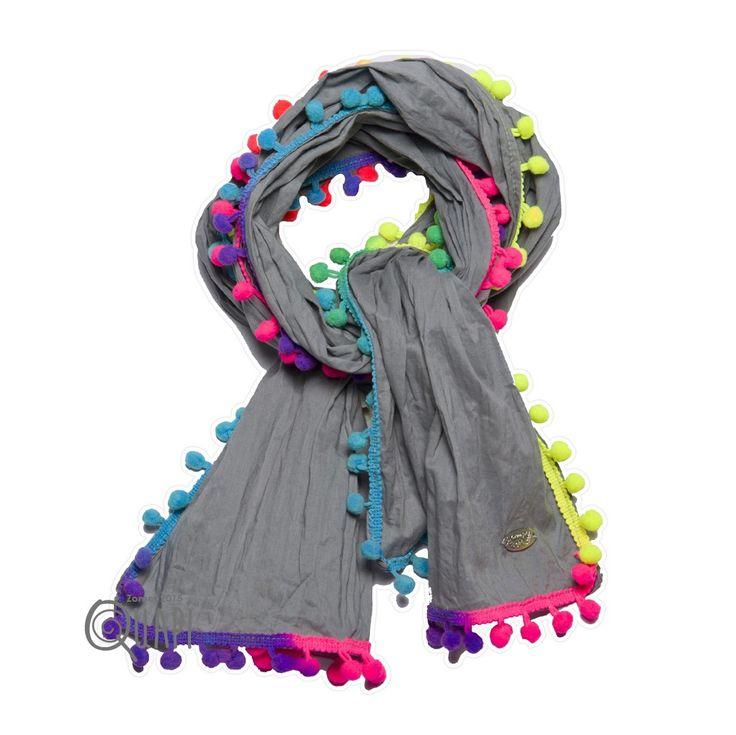 Quapi Sjaal Babbe Olijf bij Minimoda. #Meisjeskleding #Accessoires #Meisjes #Shawl #Kinderkleding #Minimoda
