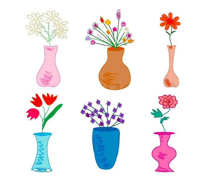 Små vaser til en smal vindueskarm på 4,5 cm.