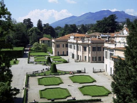 Palazzo Estense, Varese, Lombardy, Italy