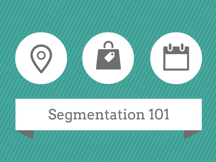 Great post on Segmentation- Market Segmentation Graphic via Singlegrain