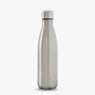 17oz 500ml Silver Lining Shimmer. Made of non-leaching and non-toxic double-walled stainless steel, BPA free  Keeps drinks cold for 24 hours and hot for 12