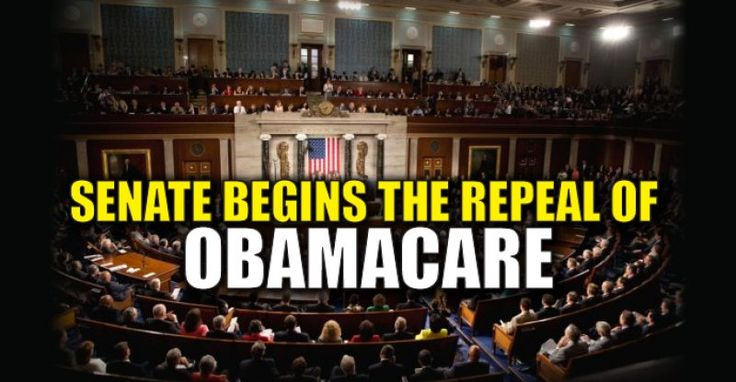 BREAKING : Senate Votes 51-48 to Begin Repealing Obamacare – TruthFeed 1/5/17