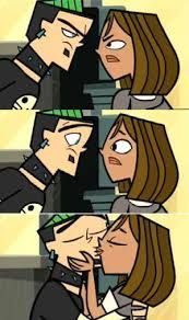 Duncan and Courtney (Total Drama Action Celebrity Manhunt's Reunion Special)