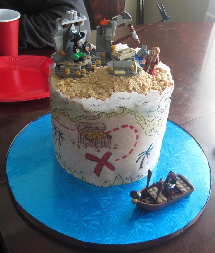 Cakes Legos Pirate Cake