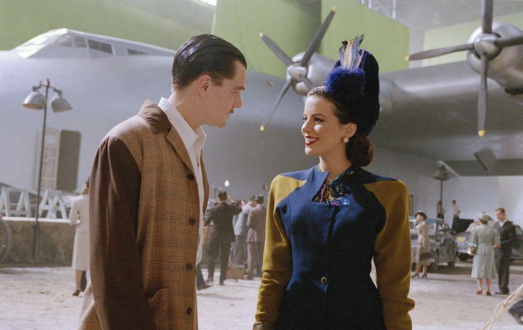 """""""The Aviator"""" movie still, 2004.  L to R: Leonardo DiCaprio, Kate Beckinsale."""