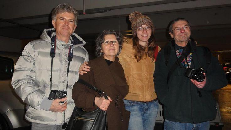 Daniel, Danielle, Irina et Christian.