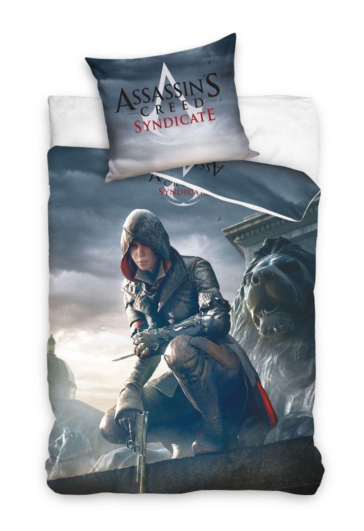 Licenčné detské posteľné obliečky Assassin's Creed