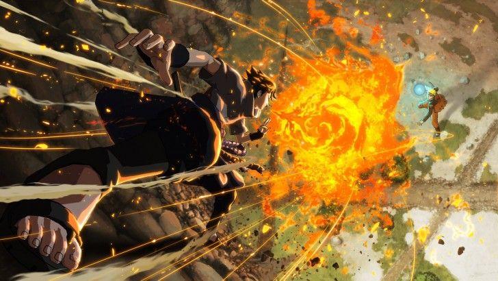 Descargar Naruto vs Sasuke Arte del juego Naruto Shippuden Ultimate Ninja Storm 4 1920x1080