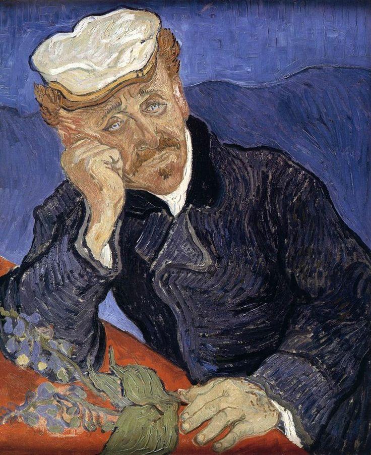 Vincent Van Gogh, Ritratto del Dottor Gachet (1890; Musée d'Orsay, Parigi)