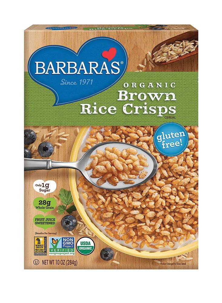 Barbara's Bakery Organic Brown Rice Crisps Cereal