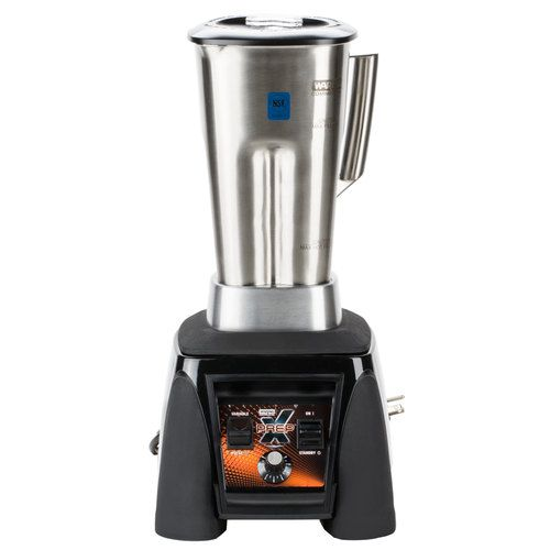 Waring MX1200XTS 3.5 HP Commercial Blender with Adjustable Speed & Paddle Switches, 64 oz. Stainless Steel Container