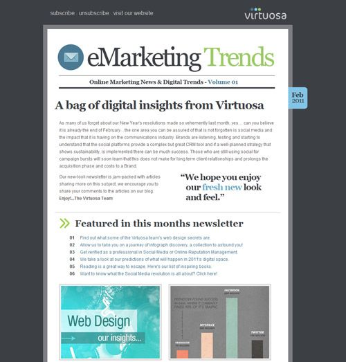 Best Newsletter Design Ideas Images On Pinterest Newsletter