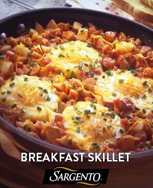 Brunch in 20 minutes, featuring fresh veggies and Sargento Fine Cut Shredded Colby Jack.