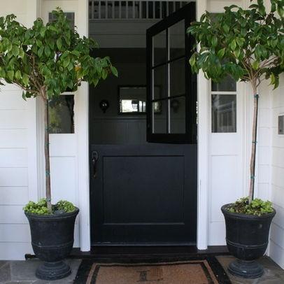 Black Garage Door Design Ideas, Pictures, Remodel, and Decor - page 7