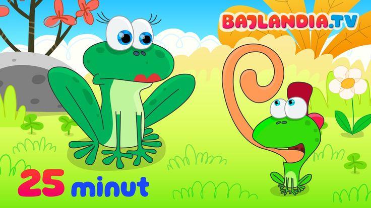 Była sobie żabka mała - piosenki dla dzieci bajlandia.tv - ZESTAW 10 pio...