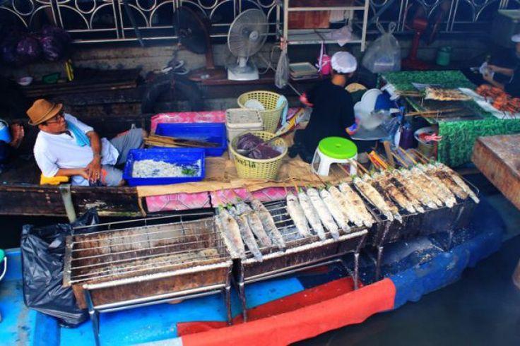 Tailing Chan, il ristorante galleggiante di Bangkok | NonSoloTuristi