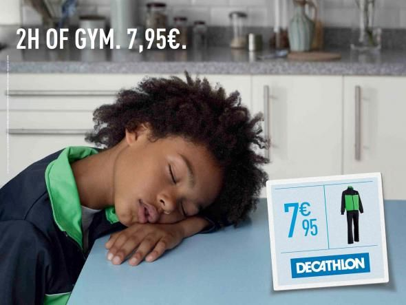 Decathlon France: Tired, 4