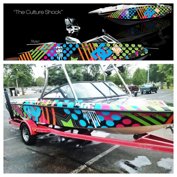 the culture shock - Boat Graphics Designs Ideas