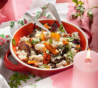 Rijstsalade met geroosterde groenten - Recept - Jumbo Supermarkten