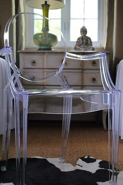 ❤ ghost chairs