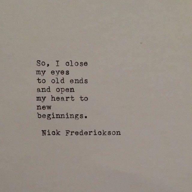"""new beginnings."""