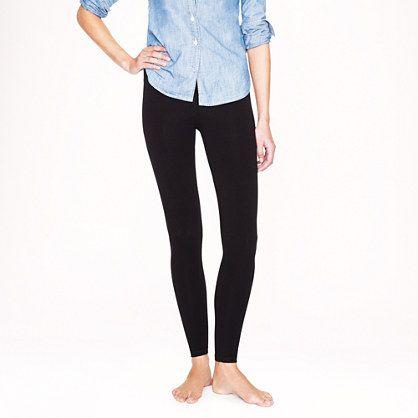 """What to wear on days when you really just don't feel like wearing actual pants. <ul><li>Fitted.</li><li>Wide elastic waistband.</li><li>Tapers at ankle.</li><li>27"""" inseam.</li><li>Cotton/spandex.</li><li>Machine wash.</li><li>Import.</li></ul>"""