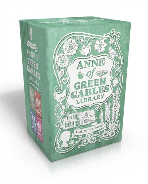 Anne of Green Gables Library: Anne of Green Gables; Anne of Avonlea; Anne of the Island; Anne's Hous