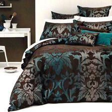 aqua and chocolate bedroom - Google Search
