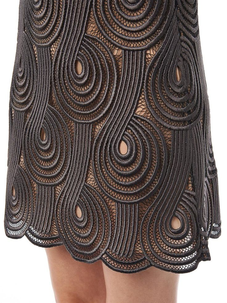 Clef lace mini skirt | Christopher Kane | MATCHESFASHION.COM