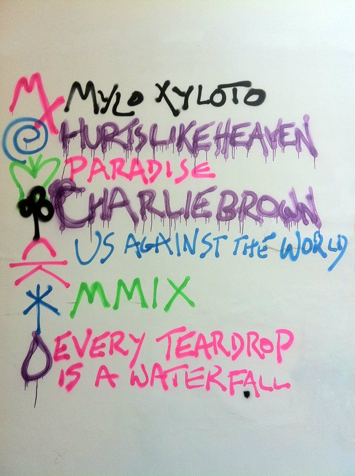coldplay symbols and meaning