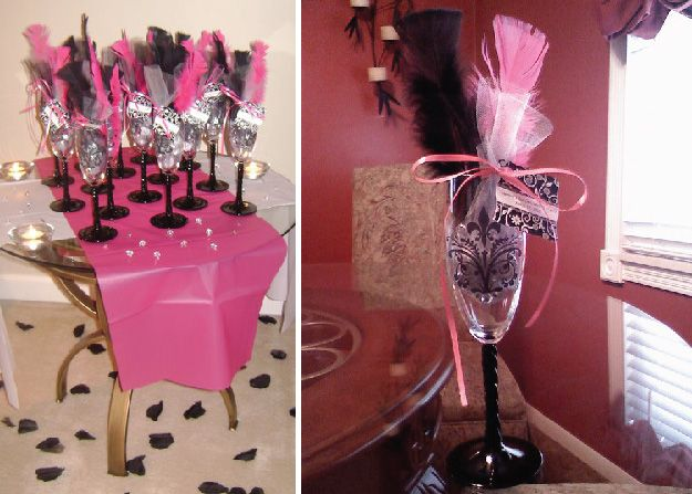 82 best images about girls night out bachelorette party for Bachelorette party decoration ideas