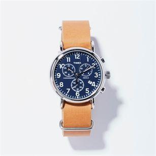 Timex Weekender chronograph, Beige Taupe, medium