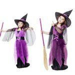 Halloween Costume Children's Female Witch Costume Suit (Blue) size L - Click image twice for more info - See a larger selection of men skinsuit  costumes at http://costumeriver.com/product-category/men-skinsuit-costumes/  - men, halloween costumes, halloween  , classic costume, holidays, event, trick or treat , gift ideas, costumes, disguise.
