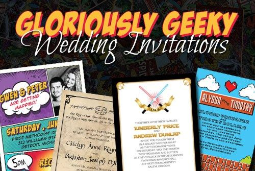 Geeky Wedding Invitation Wording: 17 Best Images About Geeky Invitations On Pinterest
