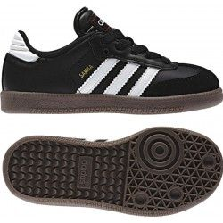 Adidas Samba Classic Junior Soccer Shoe 036516 Black-White
